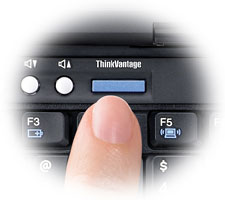 The ThinkVantage Button